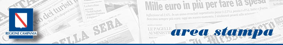 Area Stampa Regione Campania